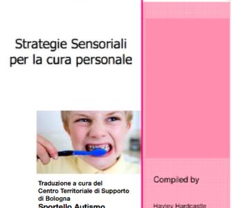 """Sportello Autismo – Pubblicazione traduzione dispensa """"Strategie sensoriali per la cura personale"""""""