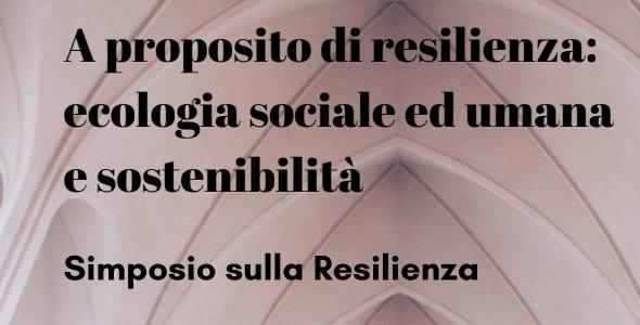 Simposio sulla Resilienza