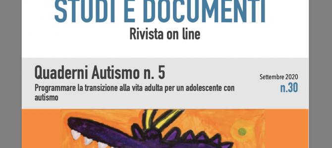 QUADERNO AUTISMO N.5