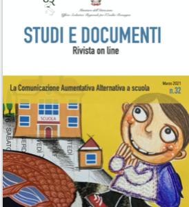 Studi e Documenti n.32 – La Comunicazione Aumentativa Alternativa